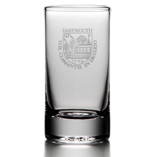 Simon Pearce Ascutney Highball Glass - Dartmouth Shield