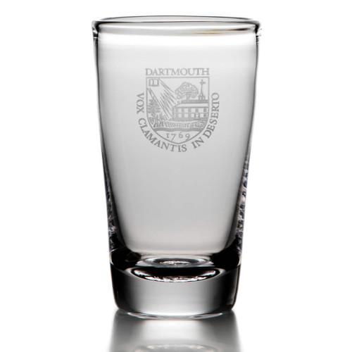 Simon Pearce Ascutney Pint Glass - Dartmouth Shield
