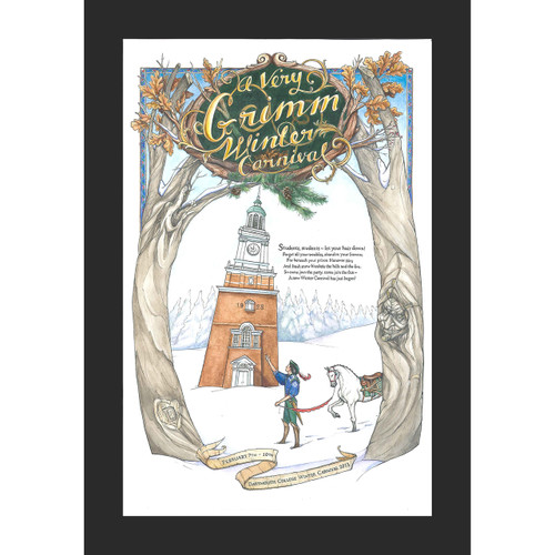Framed 2013 Winter Carnival Poster