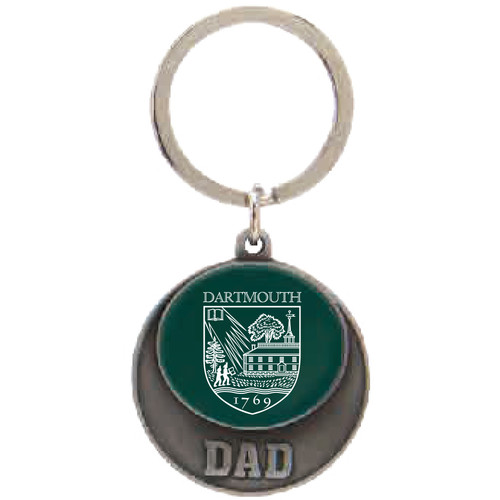 Dad Shield Key Chain Dartmouth