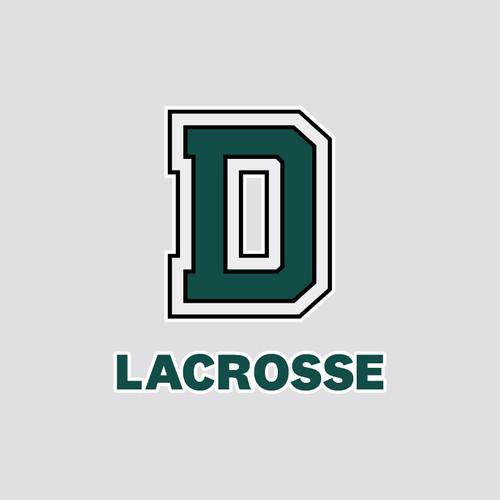 Lacrosse D Exterior Decal Dartmouth