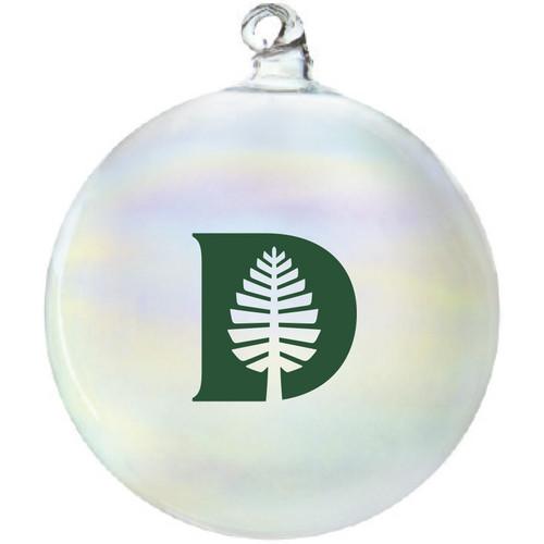 Iridescent D-Pine Ornament Dartmouth