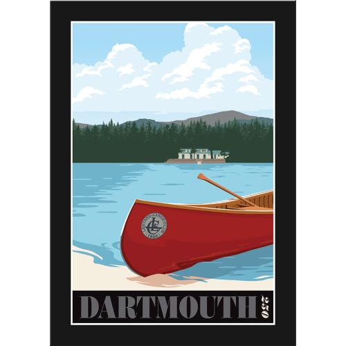Framed Ledyard Poster: Dartmouth 250th