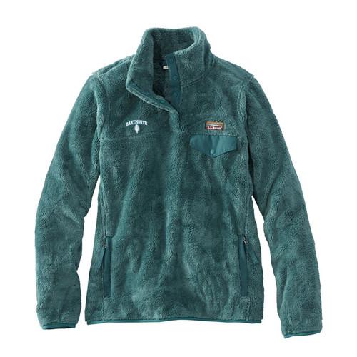 L.L. BEAN Women's Hi-Pile Fleece Pullover
