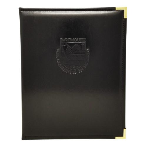 Graduate Debossed Shield Padholder Dartmouth