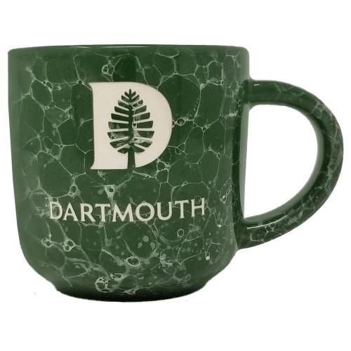 Marbled Green Etched D-Pine Mug