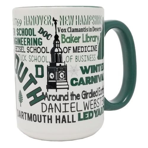 Dartmouth College Mug, Travel Mug Dartmouth, Water Bottle