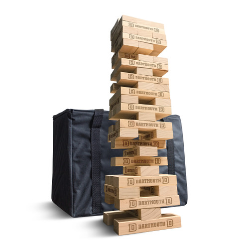 Gameday Wooden Tumble Tower Dartmouth
