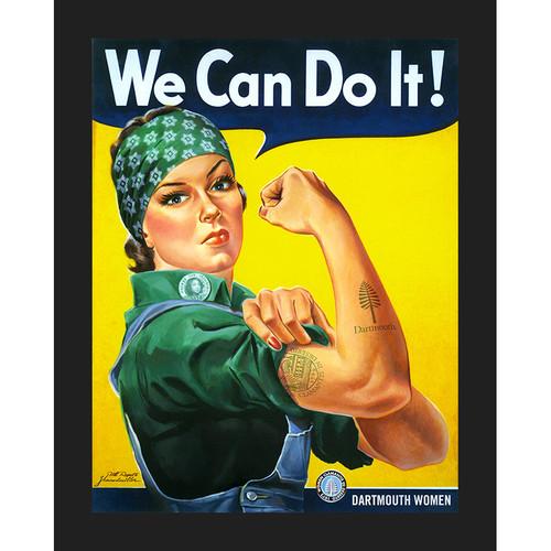 Framed Dartmouth Women Celebration Poster