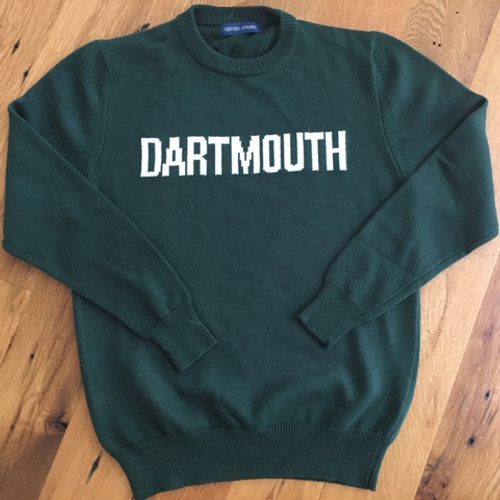 Dartmouth Block Green Sweater