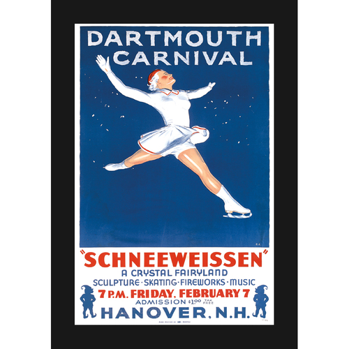 Winter Carnival 1936 Skating Dartmouth