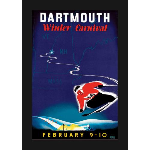 Winter Carnival 1940 Skiing Dartmouth
