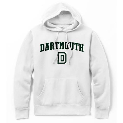 White D Stadium Hood Dartmouth