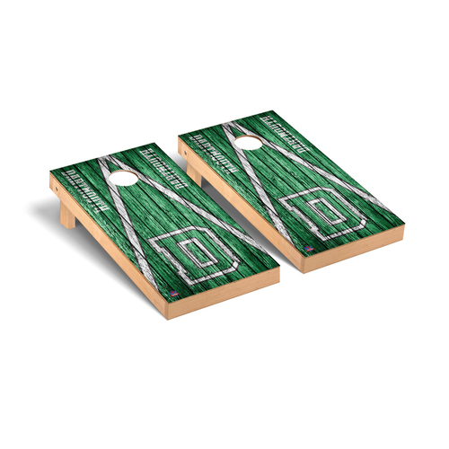 Triangle Weathered Cornhole Boards Game Set Dartmouth