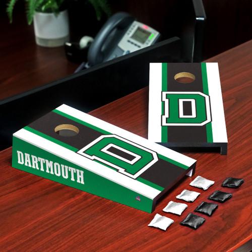 Big Green Desktop Cornhole Game Dartmouth