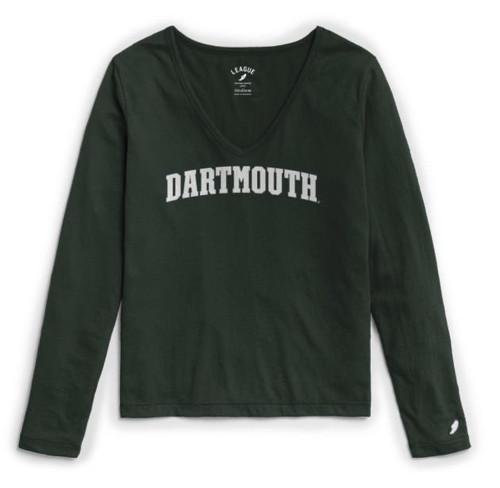 Women's Respin Long-Sleeve V-Neck Dartmouth