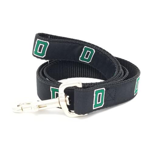 Black Dartmouth D Dog Leash