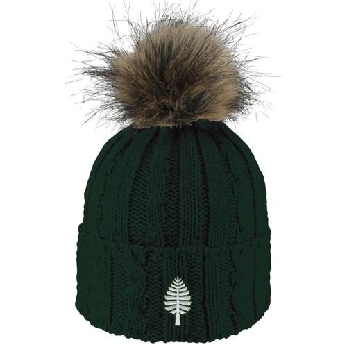 Women's Emma Alps Green Knit Cuff Lone Pine Hat Dartmouth