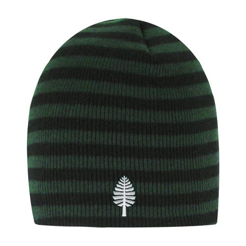 Blizzard Stripe Black Knit Hat Lone Pine Dartmouth