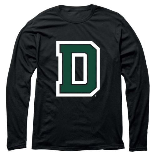 Green D Black Long Sleeve Training Tee Dartmouth