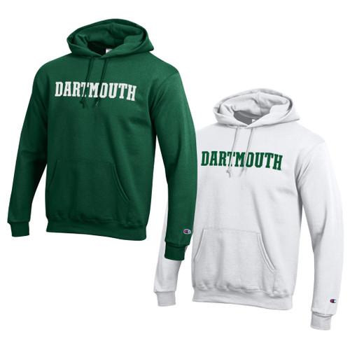 CHAMPION Hooded Sweatshirt Dartmouth Blockword