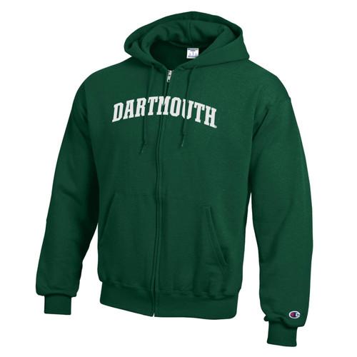 CHAMPION Full Zip Hood Block Dartmouth