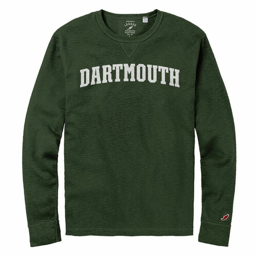 Men's Slub Green Thermal Dartmouth