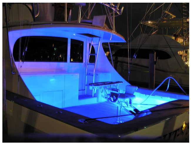 online retailer b0a1d 42cdc LED Strip Light examples: LED Boat and Marine lighting examples