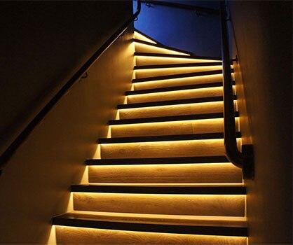 UltraBright high brightness LED strip lights in kitchen
