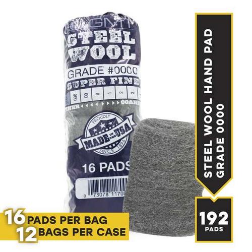#0000 16 Pad Poli, 16 pads/bag, 12/cs