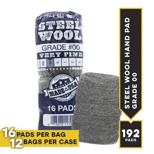 #00 16 Pad Poli, 16 pads/bag, 12 bags/cs
