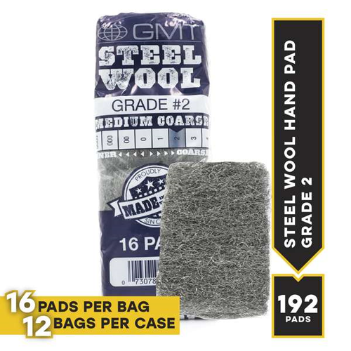 #2 16 Pad Poli, 16 pads/bag, 12 bags/cs