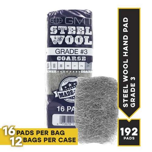 #3 16 Pad Poli, 16 pads/bag, 12 bags/cs