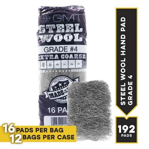 #4 16 Pad Poli, 16 pads/bag, 12 bags/cs