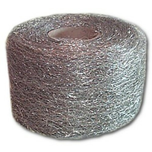 Medium #316 Stainless Steel Wool, 1-lb reel, 12 reels/cs