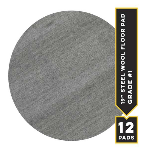 """#1 - 19"""" Metrix Floor Pad, 12/cs"""