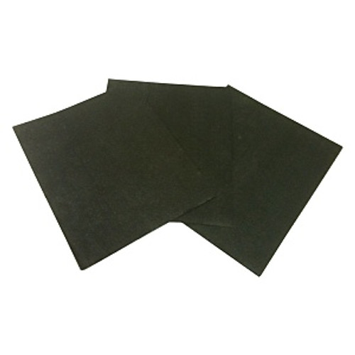 "#000000 9"" x 11"" Steel Wool Sanding Sheets, 50/cs"