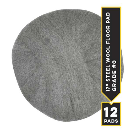 "#0 - 17"" Radial Floor Pad, 12/cs"