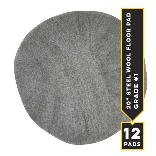 "#1 - 20"" Radial Floor Pad, 12/cs"