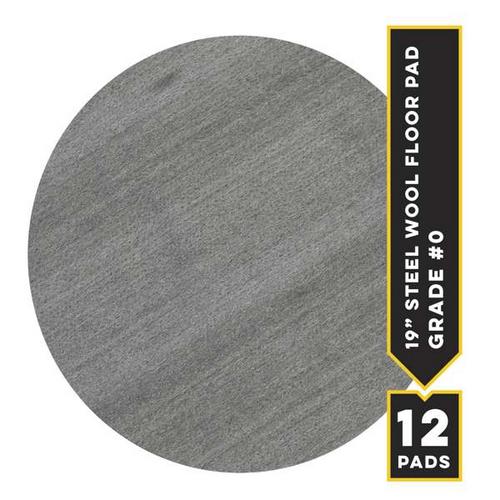 """#0 - 19"""" Metrix Floor Pad, 12/cs"""