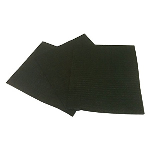 "#00 9"" x 11"" Steel Wool Sanding Sheets, 50/cs"