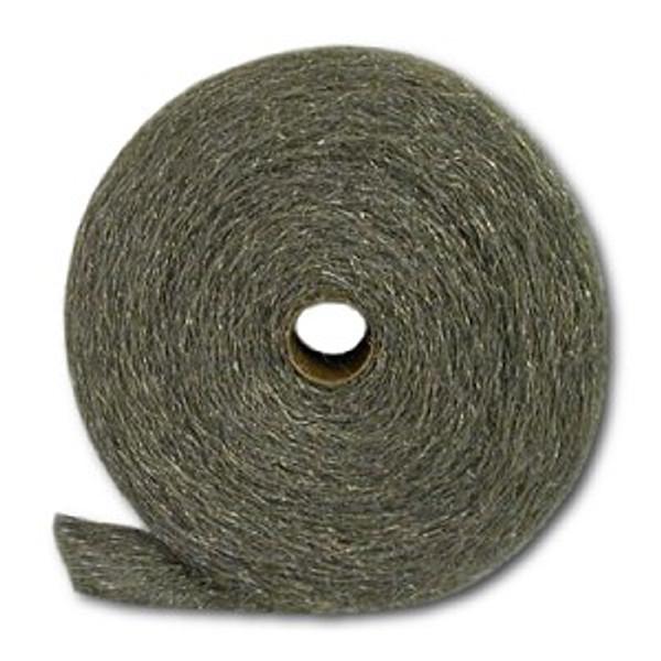 Fine #434 Stainless Steel Wool, 5-lb reel, 6 reels/cs