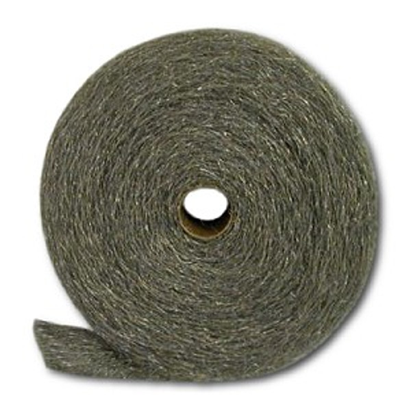 Fine #434 Stainless Steel Wool, 5-lb reel, 6 reels/cs