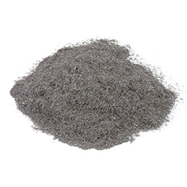 #4  - 1/4' Chopped Steel Wool Fibers, 50 lbs/bag