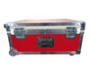 Lamda Head Custom ATA Shipping Case with Wheels and Handle