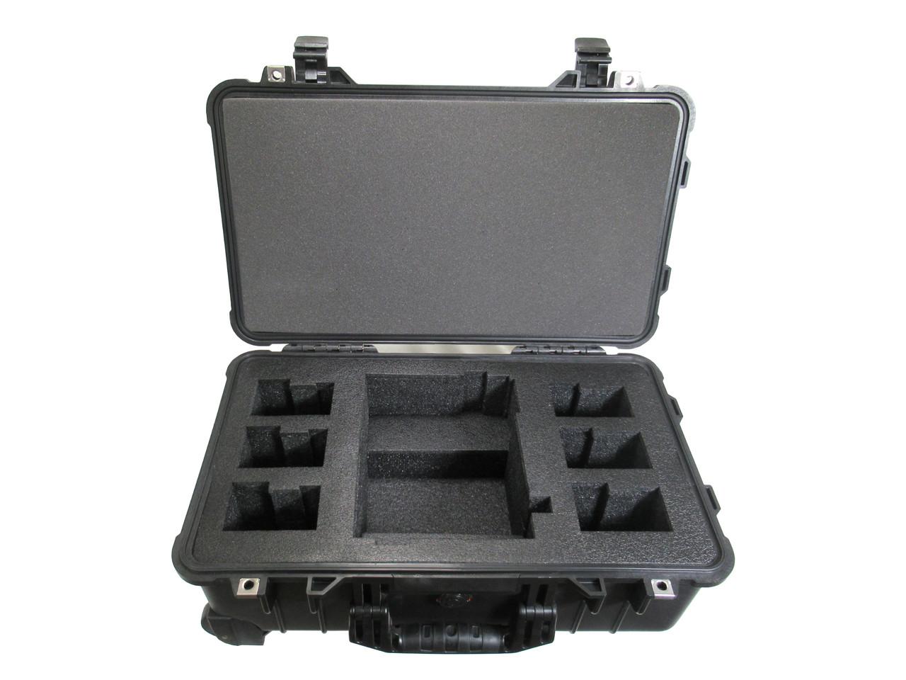 ANTON BAUER LP-2 with 6 Gold Mount Batteries Case