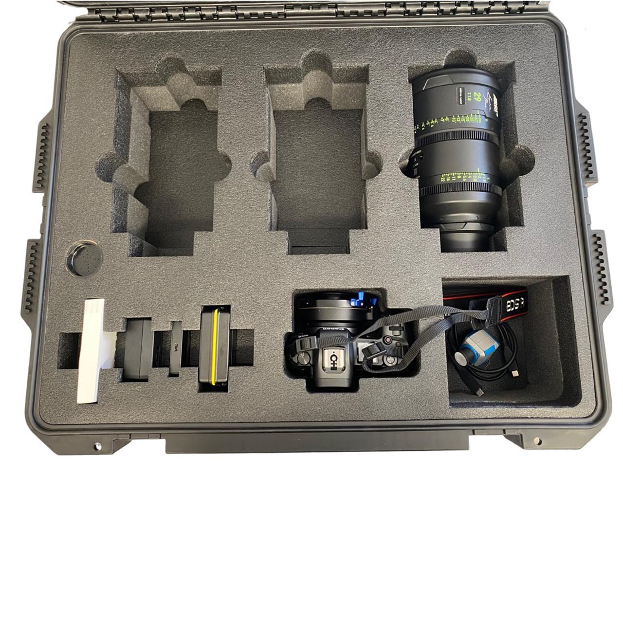 ARRI SIGNATURE PRIME and Canon EOS R Case