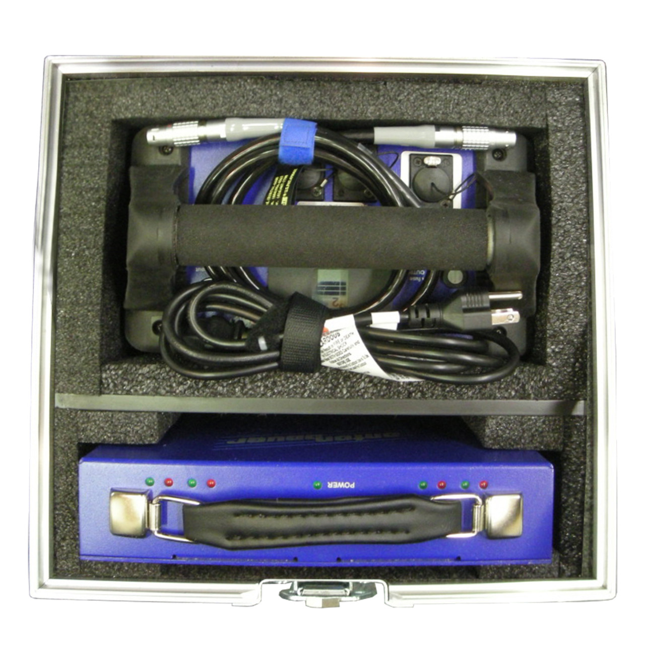 Anton Bauer Cine VCLX Battery with Power Charger and Cable position
