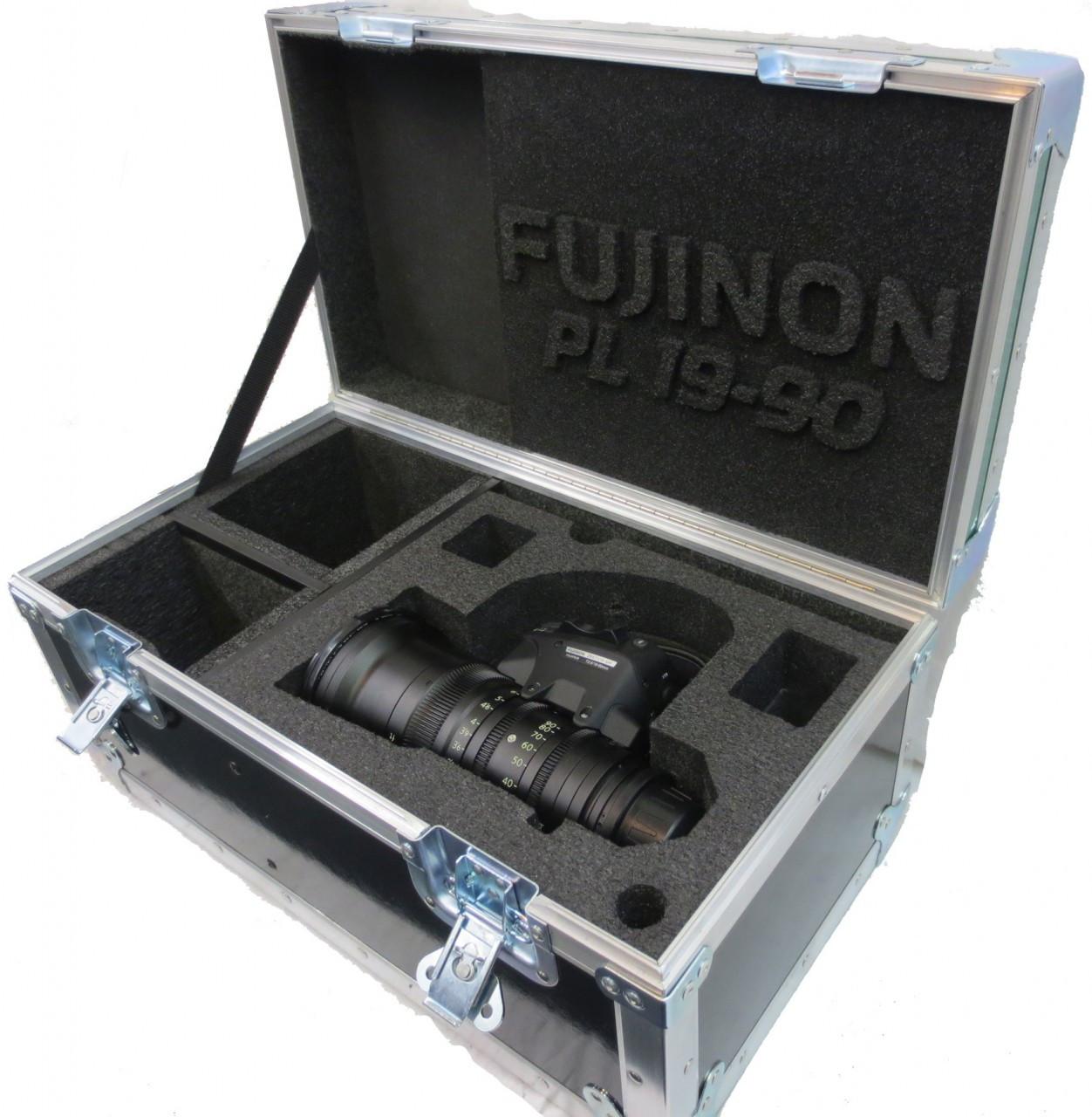 Fujinon 19-90 T2.9 Cabrio Zoom Lens with LMB 5 Matte Box Shipping Case