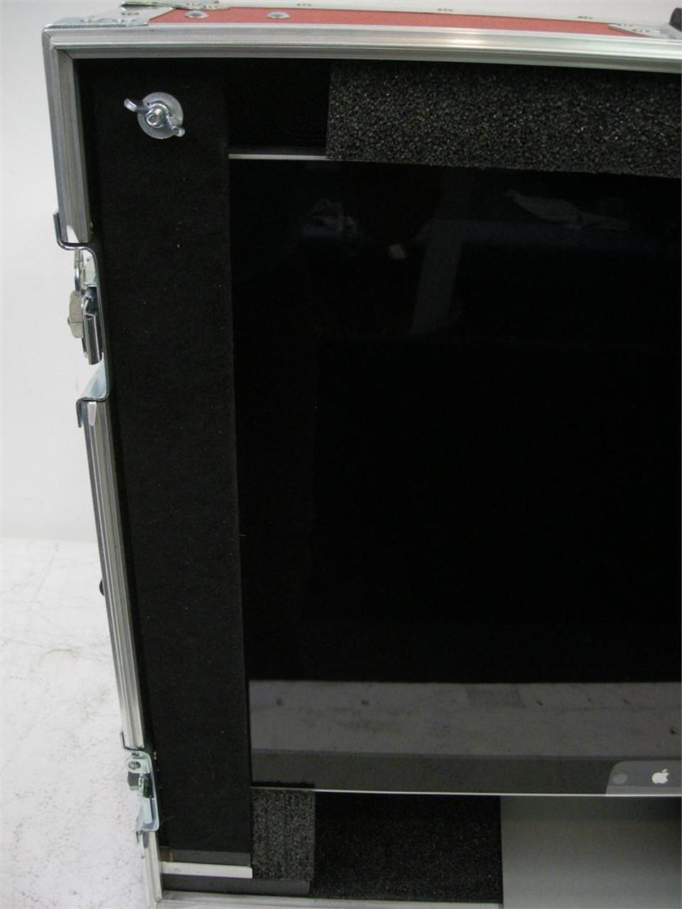 "Apple Cinema HD Display 24"" Desktop Use Custom ATA Shipping Case - Interior View Side"